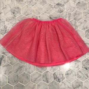 Cat and Jack fuchsia skirt